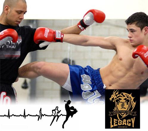 Kelas Muay Thai & Boxing 1x di Legacy Executive Sports Club