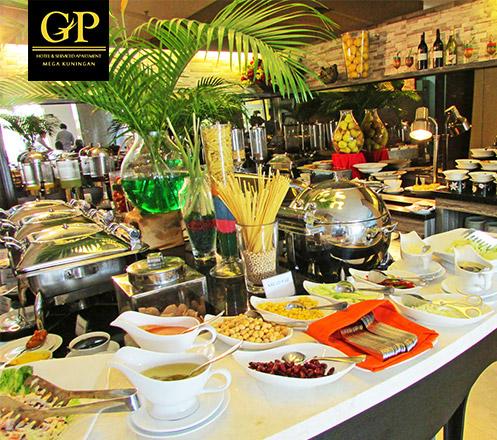 Lebaran Brunch at Teratai Restaurant GP Hotel Mega Kuningan