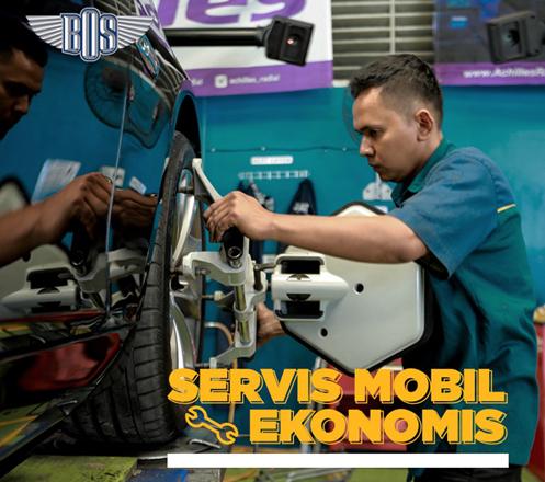 Servis Mobil Ekonomis dari Bengkel BOS