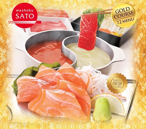 AYCE Gold Course at Washoku SATO MOI Only 250K (incl.tax & service)