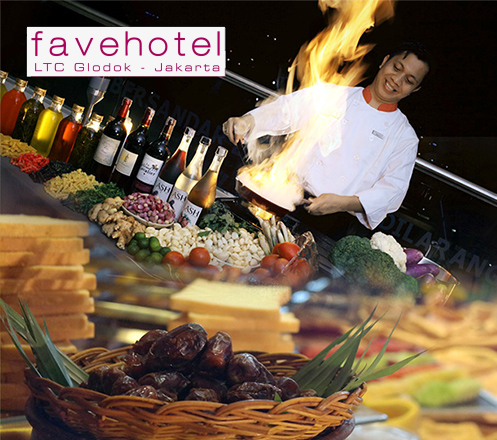 All You Can Eat Buffet at Lime Restaurant - Favehotel LTC Glodok