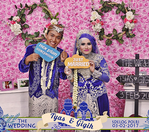 Unlimited 2 jam Photobooth dari Deraya Photography