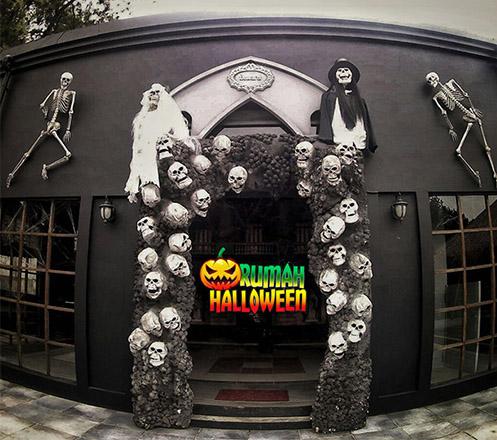 Rasakan Keseruan Rumah Halloween Bandung