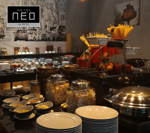 Lunch Buffet All You Can Eat Package Only at Neo Hotel Mangga Dua