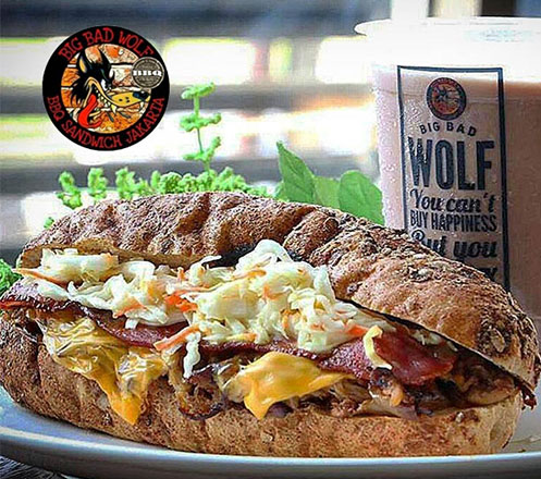 Special Package for 2 Big Bad Wolf BBQ Sandwich