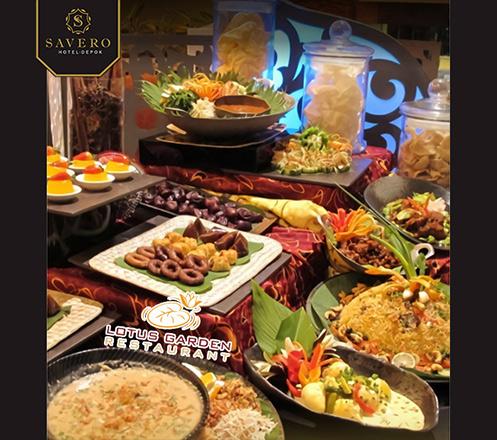 Breakfasting Ramadan Buffet at Lotus Garden Restaurant