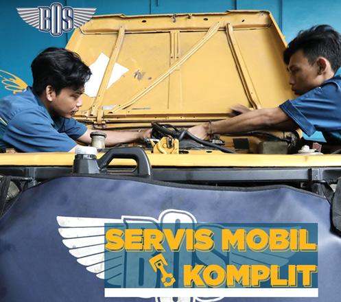 Servis Mobil Komplit dari Bengkel BOS 02