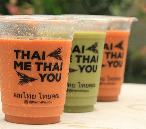 Buy 2 Get 1 Free Thai Tea or Green Tea from Thai Me Thai You
