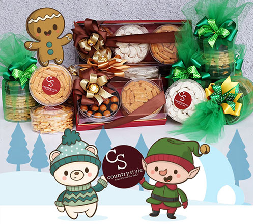Parcel Cookies Christmas dari Country Style