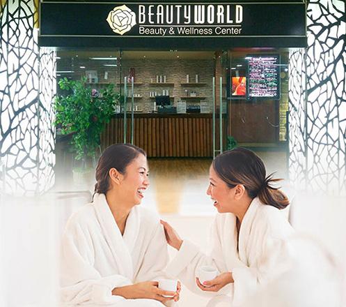 Paket Perawatan Kecantikan dari Beauty World