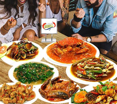 Paket Bukber untuk 10 Orang dari Pawon Seafood
