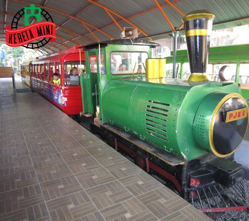 Tiket Masuk Kereta Api Mini TMII 02