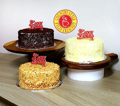 Country Style Grandma Cake 02