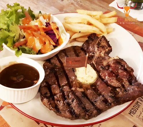 Voucher Value 100k at Red Angus Steak House