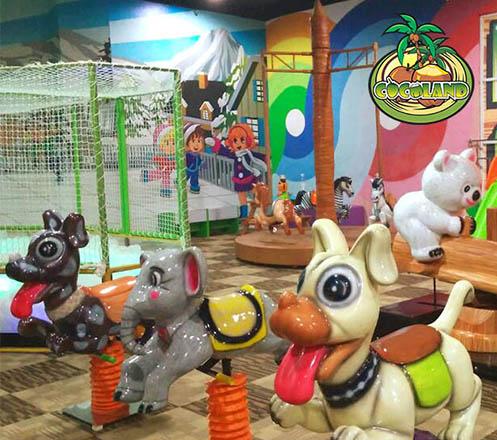 Cocoland Sky Jumper and Adventure di Jogja City Mall