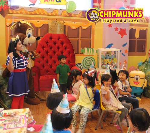 Party Package dari Chipmunks Kemang