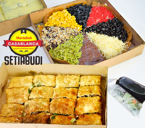 Martabak Casablanca Setiabudi (Buy 1 Get 1)