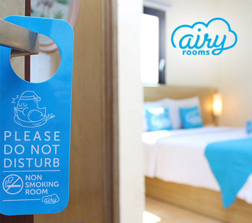 Voucher Airy Rooms - WeekDay (100K for 10K)