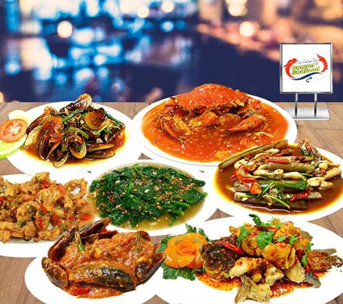 Paket Bukber untuk 6 Orang dari Pawon Seafood