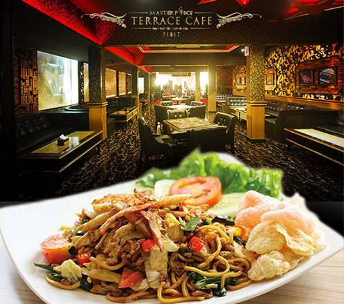 Paket Lunch di Teras Cafe Masterpiece Tebet