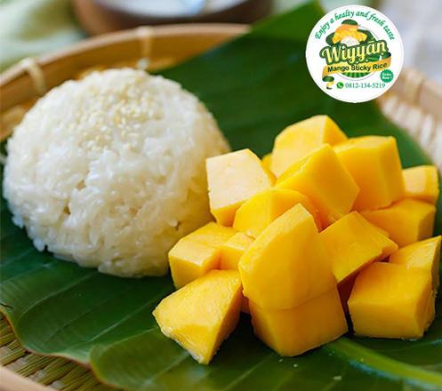 Mango Sticky Rice Kekinian dari Wiyyan Sticky Rice