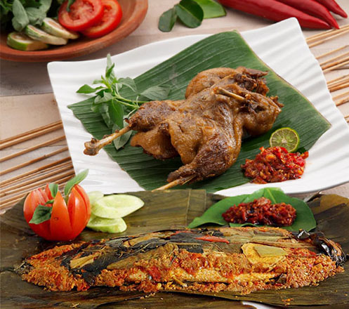 Pepes Bandeng dan Bebek Goreng dari Dapoer Bu Nonik 01