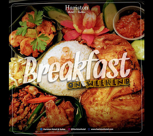 Special -All You Can Eat- Breakfast on Weekend for Two