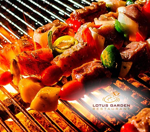 Saturday BBQ Dinner at Lotus Garden Restaurant