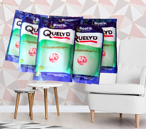 Quelyd SE Bostik Premium Lem Wallpaper Dinding