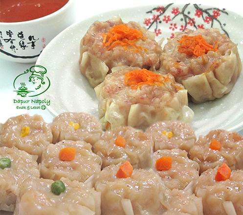 Siomay Babi Udang dan Ayam Udang yang Lezat dari Dapur Napoly