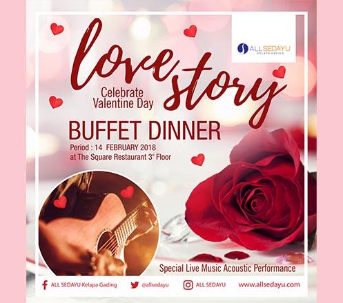 Valentine Romantic Dinner Buffet at All Sedayu Hotel