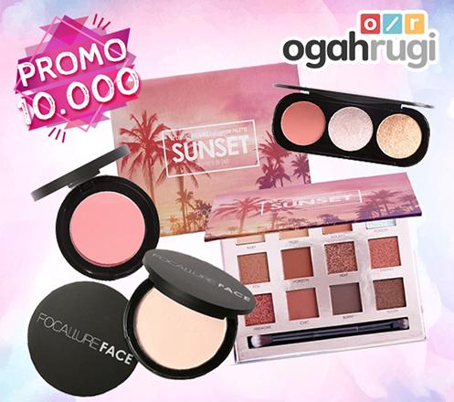 Paket Make Up Lengkap Focallure Cuma Rp 10.000