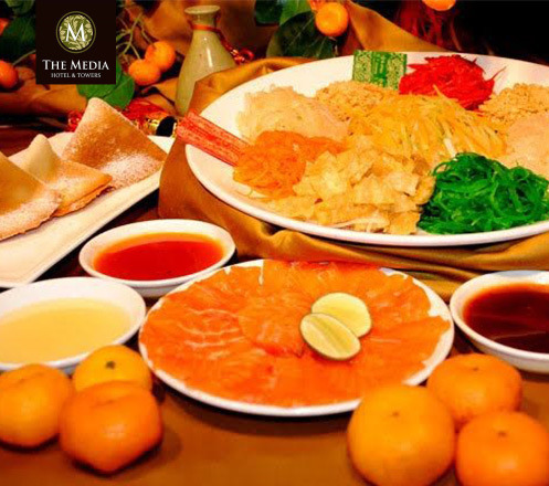 Chinese New Year Eve Dinner Buffet at The Breeze Cafe