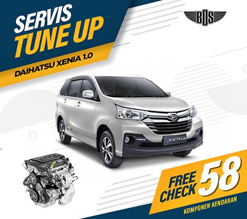 Servis Tune Up Mobil Daihatsu dari Bengkel BOS