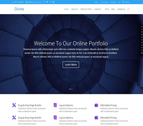 Jasa Pembuatan Website Perusahaan Profesional & Modern 01
