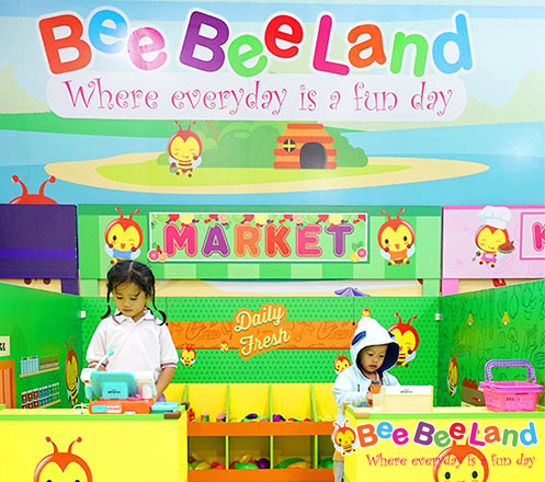 Tempat Bermain Anak Bee Bee Land di Mall Cipinang Indah