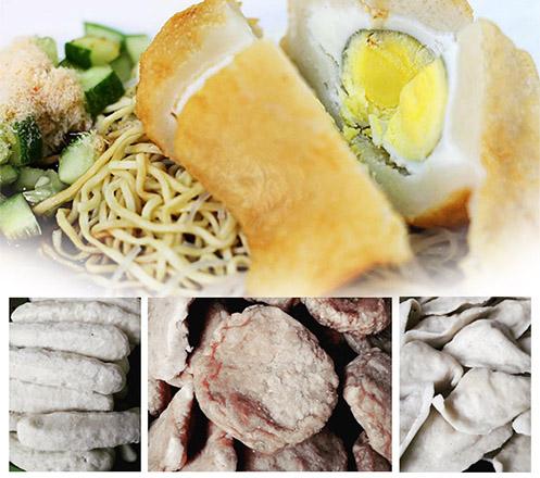 Paket Pilihan Pempek Palembang Asli Ikan Tenggiri