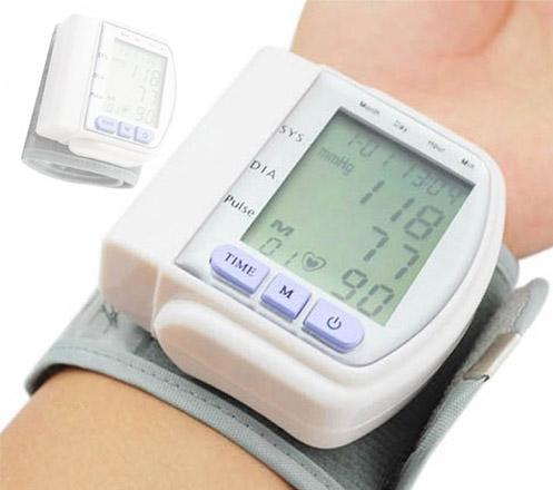 Automatic Wrist Blood Pressure Monitor CK103