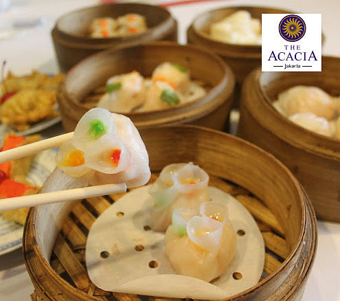 All You Can Eat Dimsum at The Acacia Hotel