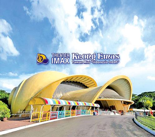 Tiket Theater IMAX Keong Emas TMII (2 Orang)
