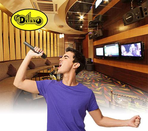 Karaoke at Club Deluxe Jakarta 02