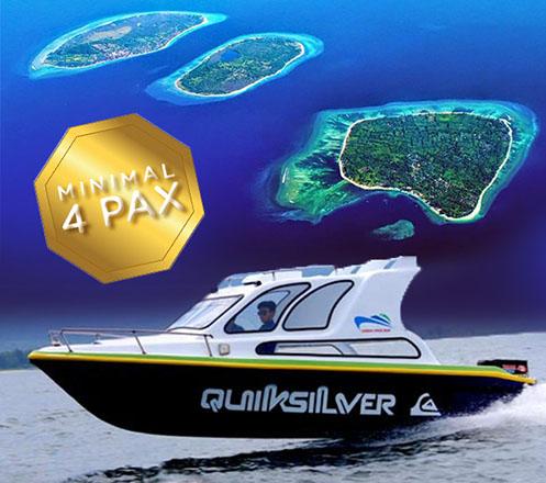 Private Speed Boat + Car Rental Min. Buy 4 pax