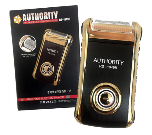 Authority Rechargeable Electric Shaver RS-1949B