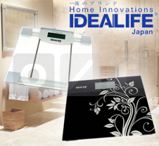 IDEALIFE Bathroom Digital Scale