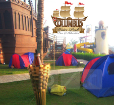 The Columbus Water Park (KEMAH BAJAK LAUT)