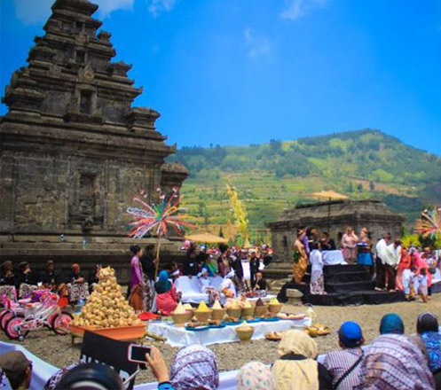 "Dieng Culture Festival X ""THE BEAUTY OF CULTURE"""
