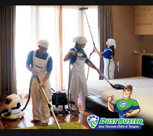 Dust Buster Jasa Vacuum Debu dan Tungau