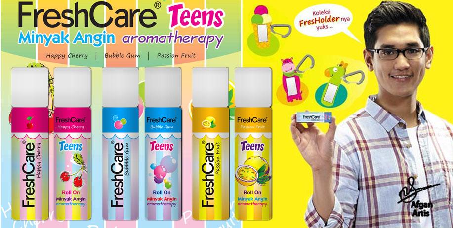 Minyak Angin Aromatherapy FreshCare Teens Plus Fresholder