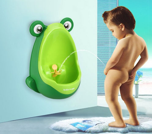 Cute Frog Baby Potty Urinal Training for Baby Boy