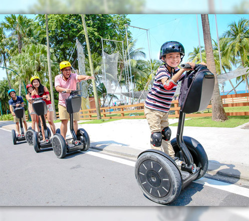 Segway Fun Ride Sentosa Singapore